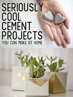 Cool Cement Projects For The Home