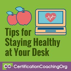 "The ""Tips for Staying Healthy at Your Desk"" video segment was originally shown on Live with Laureen #011.  Laureen:  For our last question: Tips for Staying Healthy at Your Desk. We had a student ask, ""I want to make some changes in 2017, all I do"