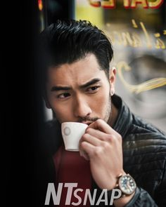 "Godfrey Gao on Instagram: ""A quick espresso ☕️ in Paris #ntsnap #photoshoot #streetsnap #paris : @victorienyeoh "" Korean Male Models, Godfrey Gao, Mens Photoshoot Poses, Hot Asian Men, Thing 1, Street Snap, British Men, Perfect Match, Character Inspiration"