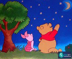 Muurschilderingen Winnie De Pooh - Lizart maakt prachtige wandschilderingen van…