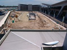 Building new terminals at Cape Town Airport