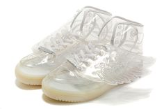 Adidas JS Jeremy Scott Clear White Wings