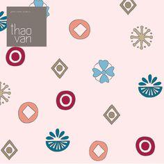 Tissu pois, revisité par Thao Van pour la collection Printemps/Été 2014