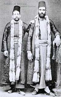 Εβραιοι της Θεσσαλονίκης - Sephardi Jews of Thessaloniki. From Virtual Jewish Library.
