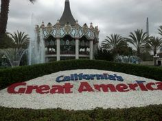 California's Great America - Great America in Santa Clara has thrilling coasters, fun shows, KidZville (rides, play area, and shows for younger children) and even a water park. California Attractions, Great America, Roller Coasters, Santa Clara, Amusement Park, Northern California, Bay Area, Day Trips, Have Fun