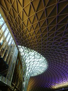 New concourse, king's cross station, london.