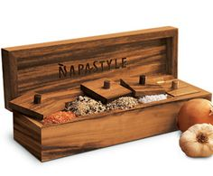 A 5-salt box from NapaStyle.