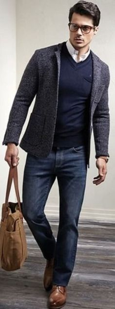 c809458303d Classy Business Casual Outfit In Winter For Men 20