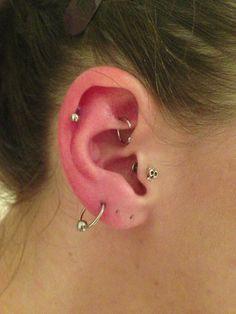 Conch Daith Tragus Helix Pierced Love Jewelry Earrings
