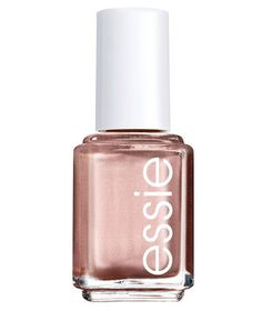 Not so sure about adding rose gold to your makeup routine just yet? Ease into the trend by swiping it on your nails first. Easier to approach than silver or gold, rose gold is similar to blush and looks pretty on both tips and toes. Try Essie nail polish in Penny Talk.