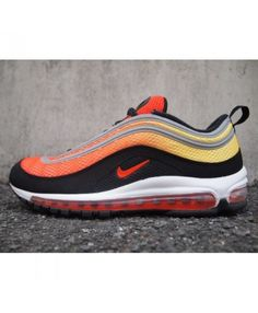Nike air max 97 em sunset pack paint the bright color of beautiful sunset. 9c5f9830d