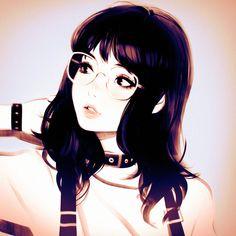Suspenders by イリヤ(Kuvshinov_Ilya) Kuvshinov Ilya, Character Art, Character Design, Comic Artist, Manga Girl, Anime Girls, Character Illustration, Female Characters, Art Girl