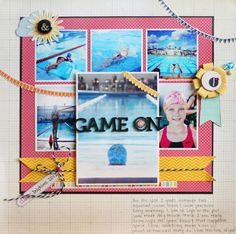 Love that focal picture on top of the collage..would be a good baseball layout...Write.Click.Scrapbook