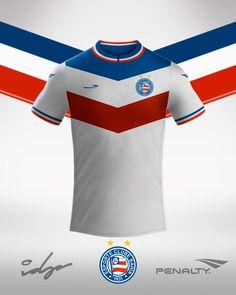 Conheça o trabalho de Igor D Paula no Leitor MDF, onde o designer redesenhou as camisas de clubes nordestinos!