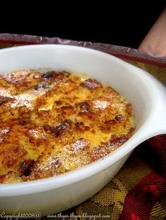 Umm Ali is an Egyptian dessert, almost like a bread pudding. The name that literally translates to Ali's mother.