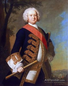 Admiral Sir Peter Warren by Thomas Hudson Date painted: Oil on canvas, 127 x cm Collection: National Maritime Museum Royal Navy Officer, William Johnson, 18th Century Clothing, Maritime Museum, Oil Painting Reproductions, Art Uk, Vintage Artwork, A4 Poster, Canvas Art Prints