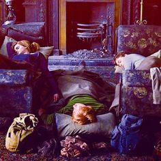 Hermoine, Ron, Harry