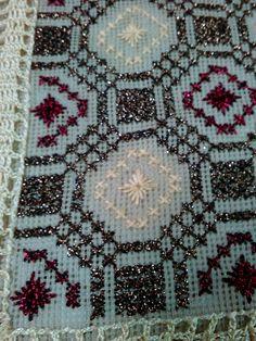 Hgtv, Cross Stitch, Fabrics, Embroidery, Rugs, Decor, Knitted Pillows, Cross Stitch Pillow, Dots