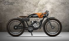 Local Motors has announced the results of its LM Cruiser bike design challenge. The first three winners are Ianis Vasilatos, Nagabhushan Krishna Hegde and Andre Costa. Motor Cruiser, Cruiser Bicycle, Motorized Bicycle, Bicycle Sidecar, Cafe Bike, Vintage Moped, Vintage Motorcycles, Style Cafe Racer, Gas Powered Bicycle