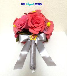 sailor Mars wedding bouquet bridal bouquet by TheElegantOtaku