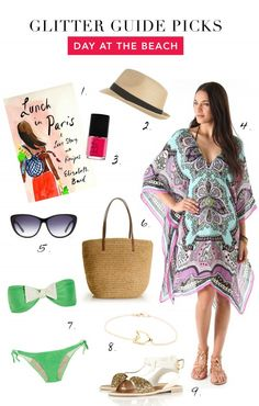glitter guide picks: day at the beach