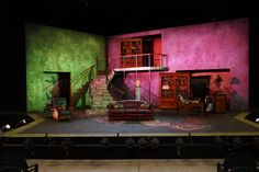 Stage of the Pygmalion dress rehearsal. Photo by Jay Yamada.