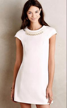 Blanco Necklace Shift #anthroregistry