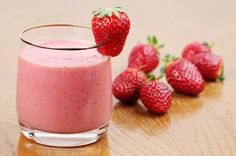 How to make Quick Strawberry Smoothie For Kids . Easy and simple Quick Strawberry Smoothie For Kids Recipe. Strawberrries, banana and pineapple are blended together in this deliciously healthy smoothie! Fruit Smoothies, Frozen Fruit Smoothie, Vegetable Smoothies, Strawberry Banana Smoothie, Healthy Smoothies, Smoothie Mix, Strawberry Milkshake, Smoothie Recipes For Kids, Smoothies For Kids