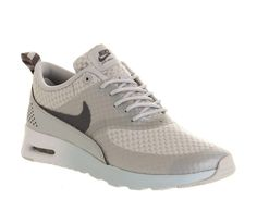 Original Nike Air Max Thea Women's Trainers - Light Grey-Metallic Silver NZ Prices - nikeshoesonline.co.nz