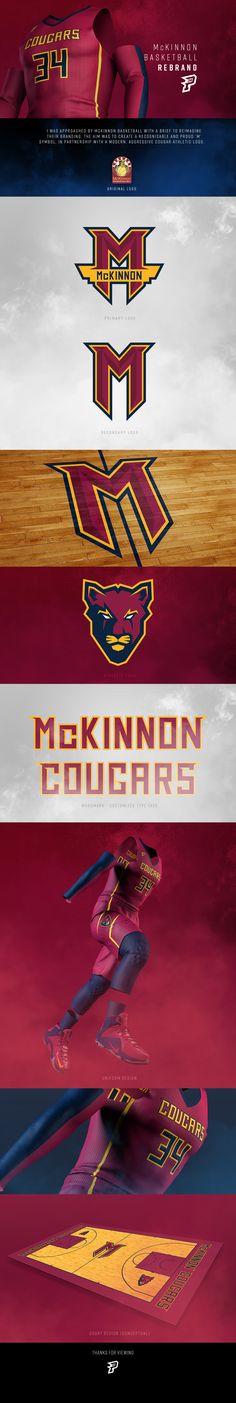 McKinnon Basketball - Rebrand on Behance