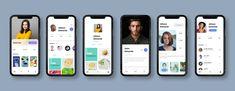 https://dribbble.com/shots/4008150-iPhone-X-Profile-screen/attachments/917729