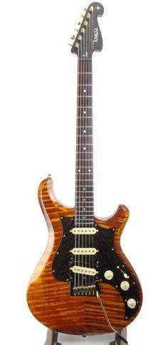Knaggs Chesapeake Series Severn Guitar Tier 2 Aged Scotch finish with hardcase   #Knaggs #Guitar #Scotch #Exotic