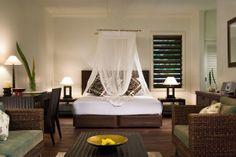 Vomo Fijian Resort, Typical Villa interior.