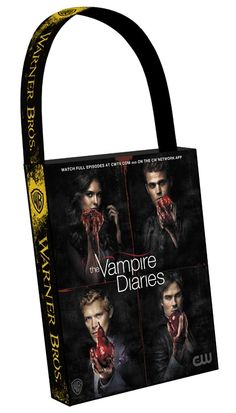 Another great show and totally cool bag. THE VAMPIRE DIARIES Comic-Con 2012 Swag Bag