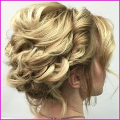 Blonde Messy Updo For Shorter Hair # low pigtail Braids # pigtail B. - Blonde Messy Updo For Shorter Hair # low pigtail Braids # pigtail Braids blonde # pigtail Braids messy - Short Hair Bun, Prom Hairstyles For Short Hair, Prom Hair Updo, Short Wedding Hair, My Hairstyle, Trending Hairstyles, Straight Hairstyles, Beach Hairstyles, Teenage Hairstyles