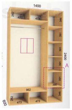 Рассчитать шкаф купе своими руками