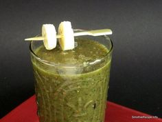 Red Chard Green Chia Smoothie