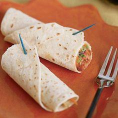 Best Slow Cooker Recipes Mu Shu Chicken Wraps | AllFreeSlowCookerRecipes.com #SlowCookerRecipes