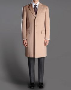 Mens Cashmere Double Breasted Coat | Sale | House Of Bruar | Men&39s