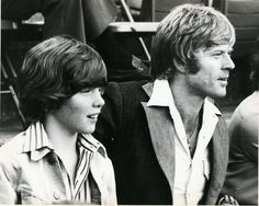 Robert Redford and son
