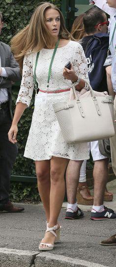 Kim Sears at Wimbledon 2014