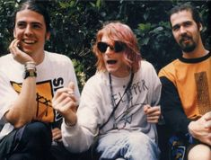 February 12, 1992. Nirvana photographed by Youri Lenquette in Sydney, AU.