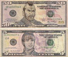 Pop-Cultured Currency: Art of Defaced US Dollars   Urbanist