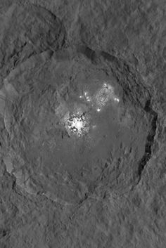 NASA Photo Captures Clearest Image Yet Of Ceres' Mysterious Bright Spots