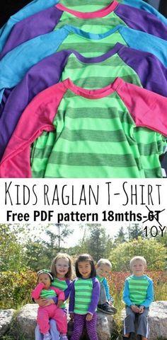 raglan-shirt- free pattern-18M-10Y from Nap-Time Creations