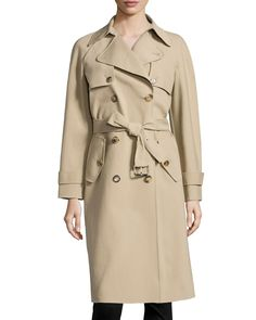 Michael Kors Double-Breasted Trenchcoat