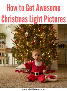 5 Tips for Getting Awesome Christmas Light Pictures, how to take christmas tree pictures