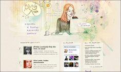 Bloody Marie webdesign - jolie présentation de la date via des vignettes sur le coté de l'aperçu du post