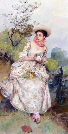 Vintage painting #vintage #art #painting