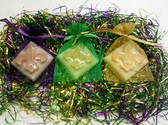 Mardi Gras Soaps #Southern Lights Candles